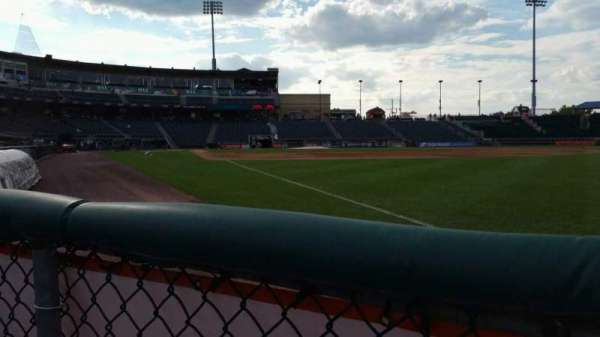 Coca-Cola Park, section: 102, row: A, seat: 13