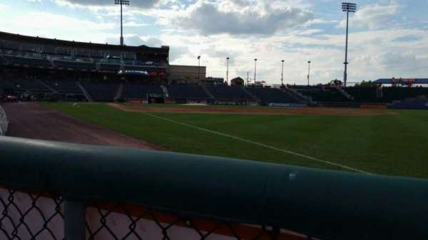 Coca-Cola Park, section: 102, row: A, seat: 10