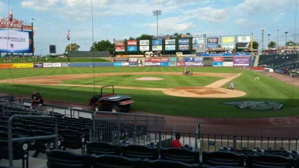 Coca-Cola Park, section: 114, row: N, seat: 9