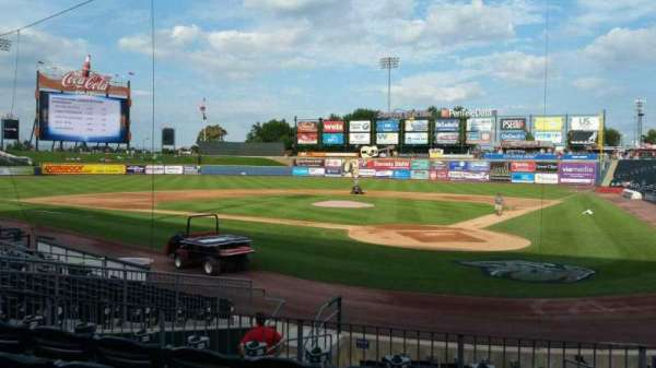 Coca-Cola Park, section: 114, row: N, seat: 3