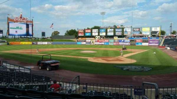 Coca-Cola Park, section: 114, row: N, seat: 1