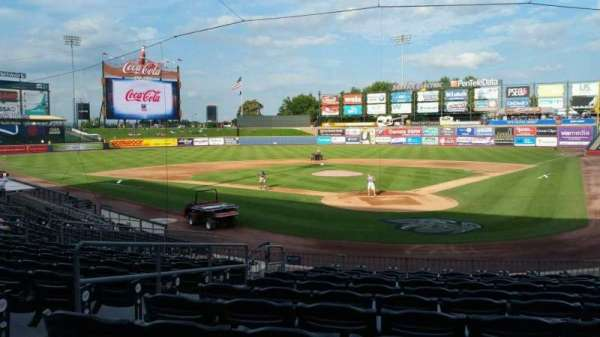 Coca-Cola Park, section: 113, row: V, seat: 10