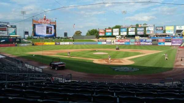 Coca-Cola Park, section: 113, row: V, seat: 7