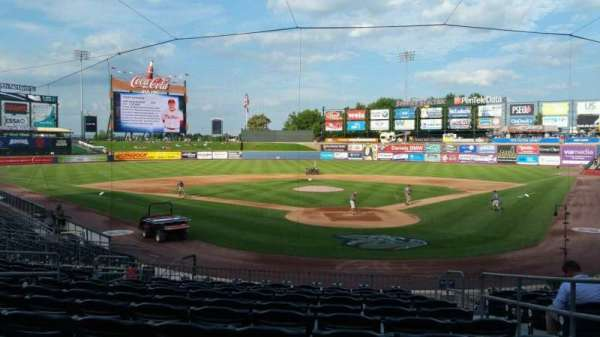 Coca-Cola Park, section: 113, row: V, seat: 4