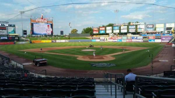 Coca-Cola Park, section: 113, row: V, seat: 1