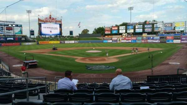 Coca-Cola Park, section: 112, row: T, seat: 3