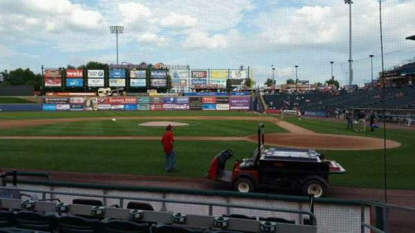 Coca-Cola Park, section: 116, row: G, seat: 1