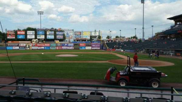 Coca-Cola Park, section: 116, row: G, seat: 4