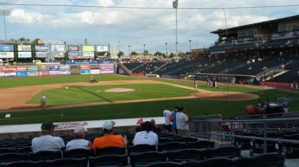 Coca-Cola Park, section: 117, row: U, seat: 4