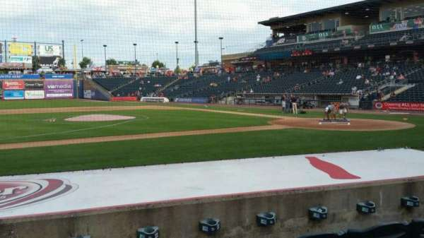 Coca-Cola Park, section: 117, row: H, seat: 7