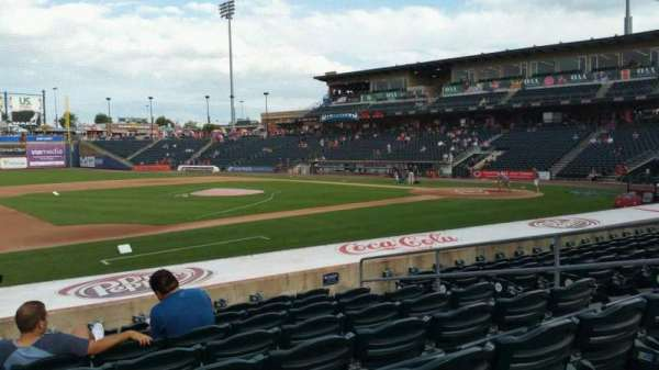 Coca-Cola Park, section: 118, row: M, seat: 8