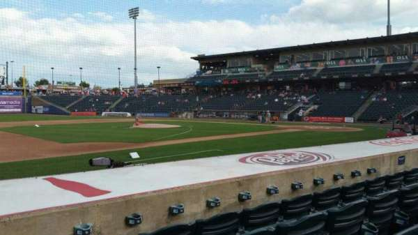Coca-Cola Park, section: 118, row: H, seat: 14