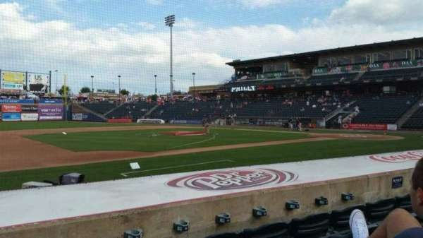 Coca-Cola Park, section: 118, row: H, seat: 10