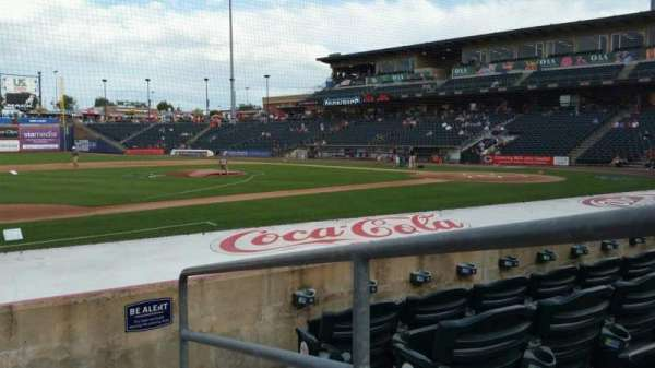 Coca-Cola Park, section: 118, row: H, seat: 1