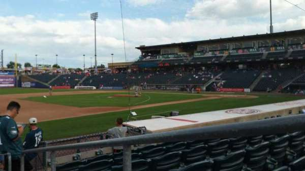 Coca-Cola Park, section: 119, row: K, seat: 1