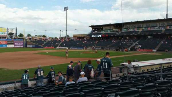Coca-Cola Park, section: 119, row: K, seat: 8
