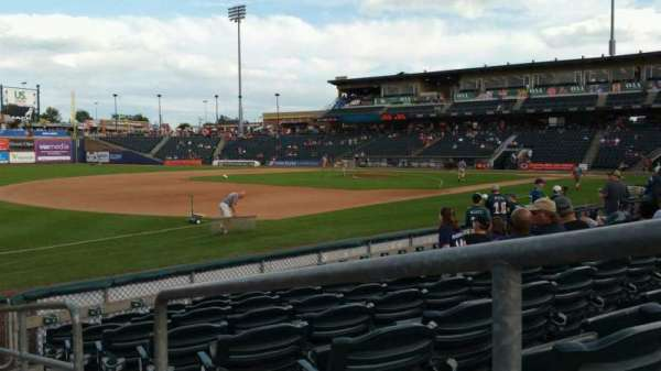 Coca-Cola Park, section: 120, row: H, seat: 1