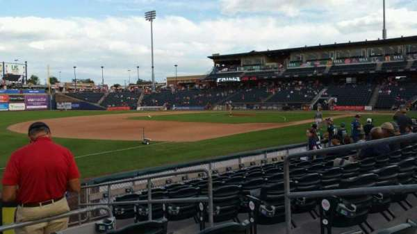 Coca-Cola Park, section: 120, row: H, seat: 4