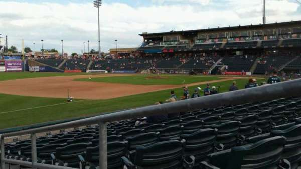 Coca-Cola Park, section: 120, row: K, seat: 1