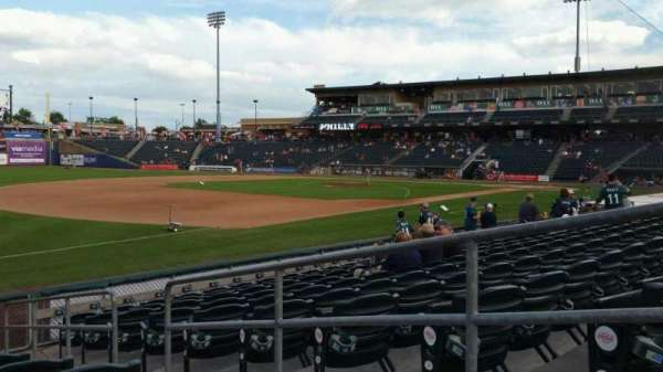 Coca-Cola Park, section: 120, row: K, seat: 3
