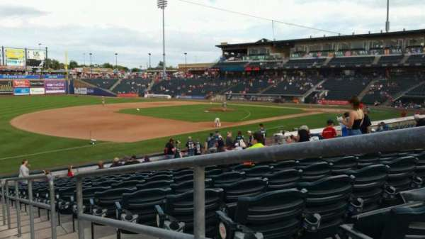 Coca-Cola Park, section: 120, row: V, seat: 1