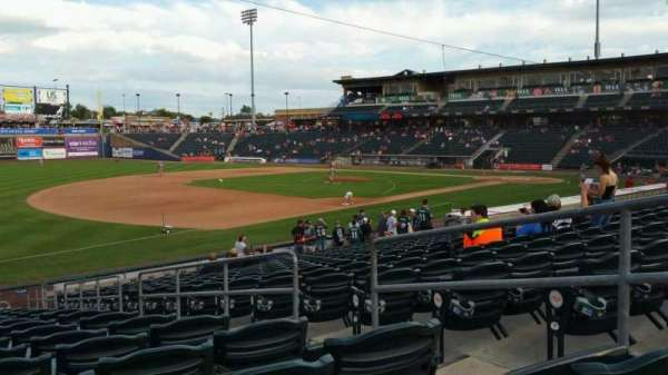 Coca-Cola Park, section: 120, row: V, seat: 4