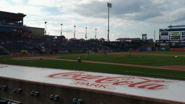 Coca-Cola Park, section: 107, row: G, seat: 20