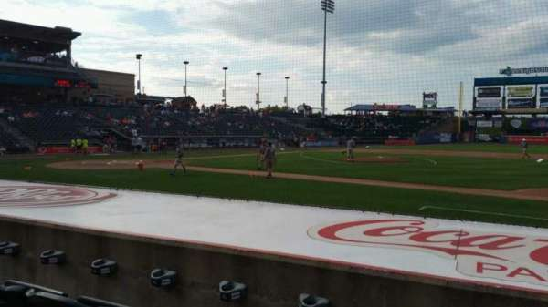 Coca-Cola Park, section: 107, row: G, seat: 17