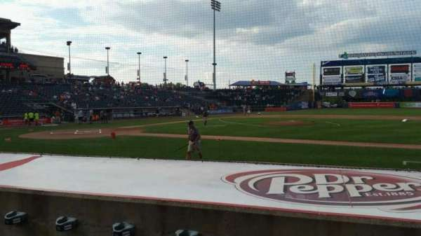 Coca-Cola Park, section: 107, row: G, seat: 8
