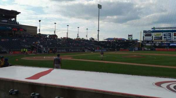 Coca-Cola Park, section: 107, row: G, seat: 6