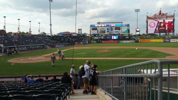 Coca-Cola Park, section: 108, row: M, seat: 14