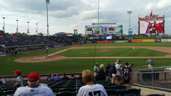 Coca-Cola Park, section: 108, row: M, seat: 10