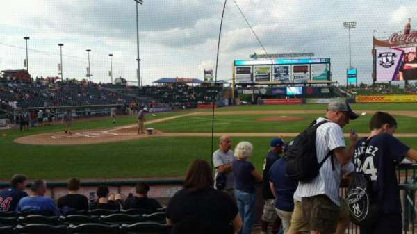 Coca-Cola Park, section: 108, row: G, seat: 13