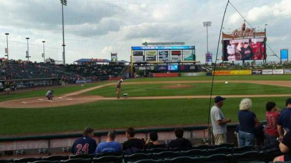Coca-Cola Park, section: 108, row: G, seat: 8