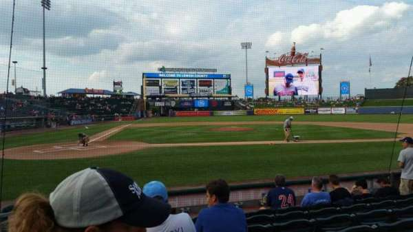 Coca-Cola Park, section: 108, row: G, seat: 1