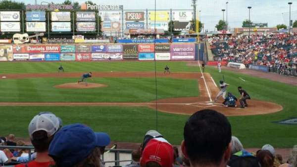 Coca-Cola Park, section: 115, row: R, seat: 10