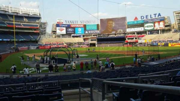 Yankee Stadium, section: 119, row: 7, seat: 1