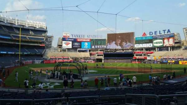 Yankee Stadium, section: 119, row: 7, seat: 4