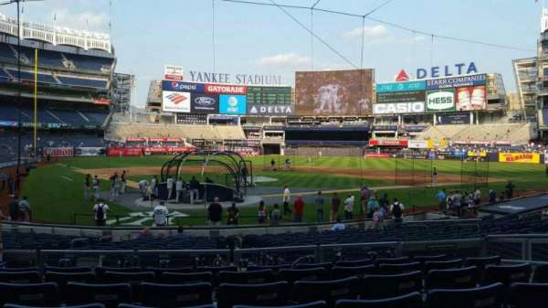 Yankee Stadium, section: 119, row: 7, seat: 8