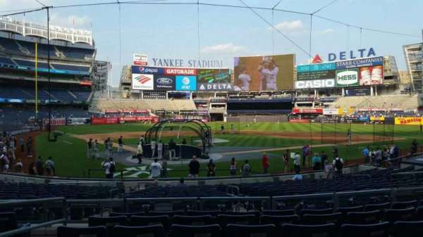 Yankee Stadium, section: 119, row: 7, seat: 11