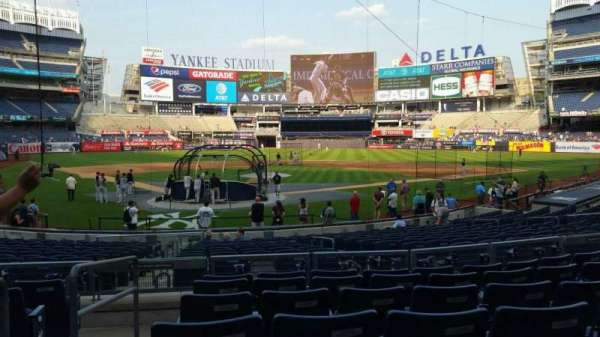 Yankee Stadium, section: 119, row: 7, seat: 13