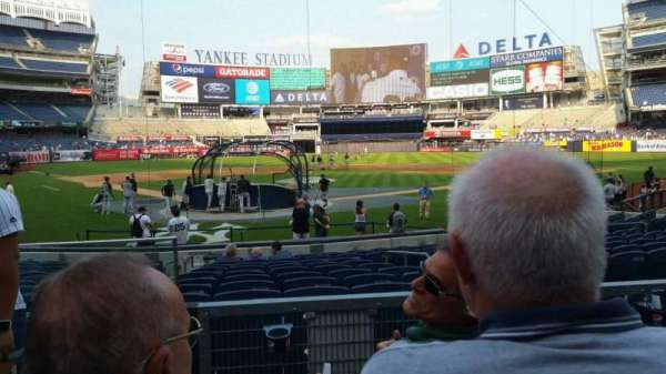 Yankee Stadium, section: 119, row: 3, seat: 11