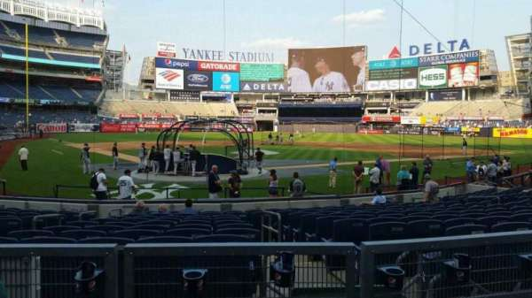 Yankee Stadium, section: 119, row: 3, seat: 8