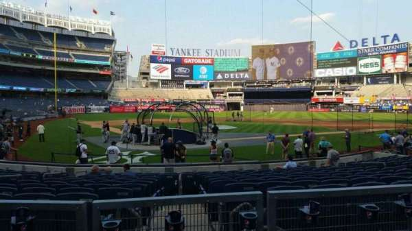 Yankee Stadium, section: 119, row: 3, seat: 5