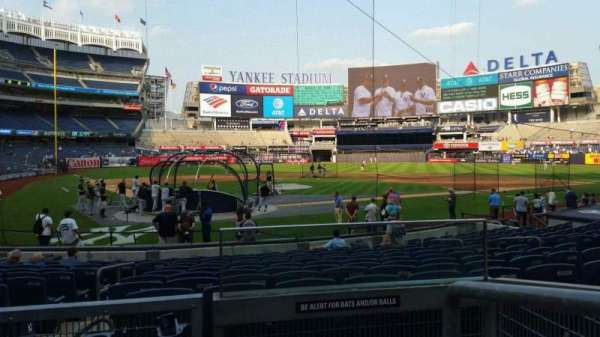 Yankee Stadium, section: 119, row: 3, seat: 1