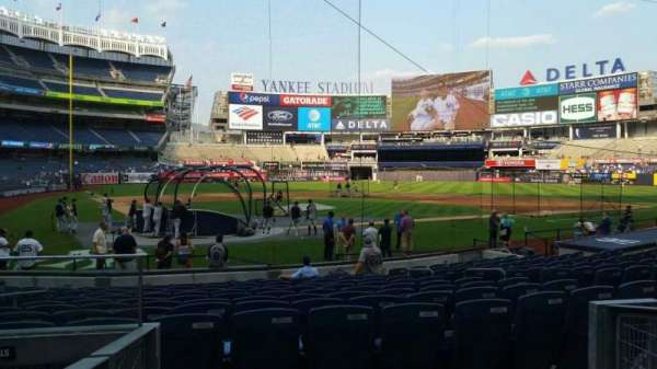 Yankee Stadium, section: 118, row: 3, seat: 9