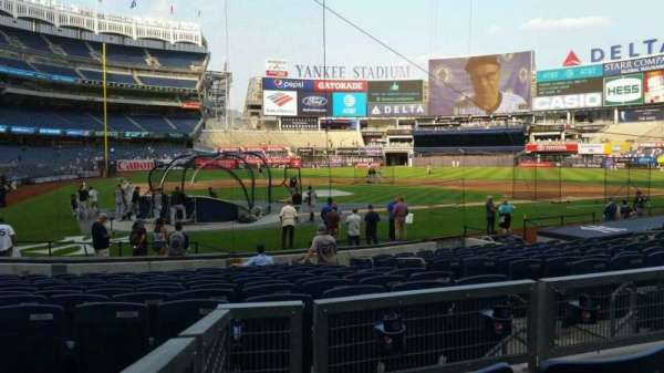 Yankee Stadium, section: 118, row: 3, seat: 5