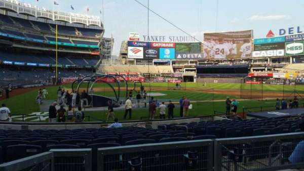 Yankee Stadium, section: 118, row: 3, seat: 4
