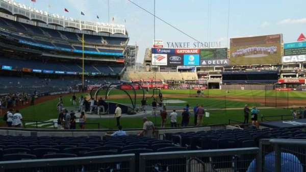 Yankee Stadium, section: 118, row: 3, seat: 2