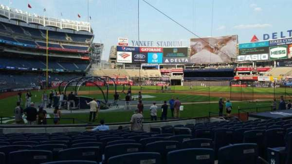 Yankee Stadium, section: 118, row: 1, seat: 3